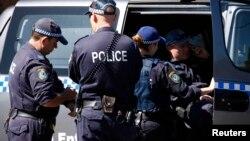 호주 연방경찰. (자료사진)