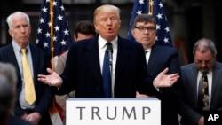Donald Trump, candidat du parti républicain. (AP Photo/Alex Brandon)