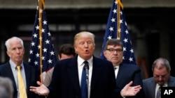 美国共和党总统参选人川普