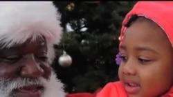 洛城韩裔圣诞节回馈非洲裔社区