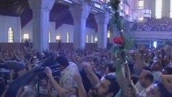 埃及基督徒悼念丧生的抗议者
