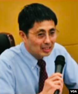 美国托列多大学荣退经济学教授张欣(资料照)