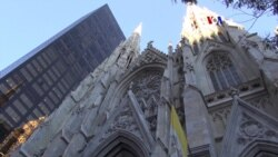 Catedral de Nueva York lista para el papa Francisco