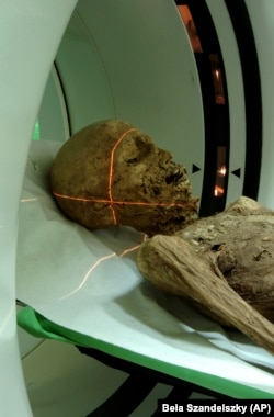 Hungarian mummies have more tissue intact for research purposes.