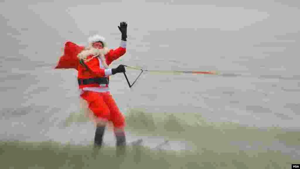 Санта Клаус в Александрии
