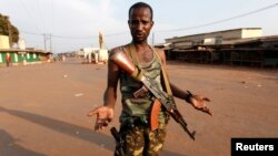 Combatente do grupo Seleka