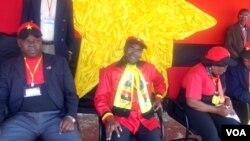 Secretário-geral do MPLA, Dino Matross, no Namibe
