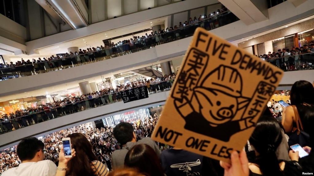 """民阵游行再度被拒,""""爆眼少女K小姐""""提司法覆核"""