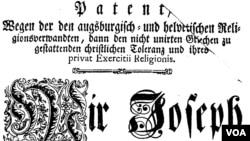 Patent of Toleration