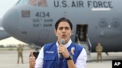 El coordinador internacional de la ayuda humanitaria, Lester Toledo, del gobierno interino de Juan Guaidó, informó en Twitter que la ayuda humanitaria sigue llegando a más sectores de Venezuela.