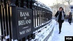 Irlanda negoció en noviembre con la Unión Europea y el FMI un plan de rescate.