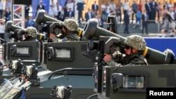 ПТРК Джавелин на военном параде в Киеве 24 августа 2018 г.