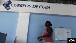 En enero pasado Cuba prohibió el envío de todo tipo de correspondencia.