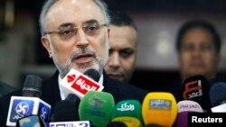علی اکبر صالحی در کنفرانس خبری در قاهره -10 ژانویه