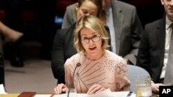 کلی کرفت، سفیر آمریکا در شورای امنیت سازمان ملل متحد