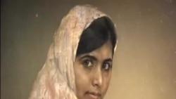 Retrato de Malala leiloado na Christie's