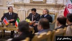 دیدار مقام های ارشد کره شمالی و جمهوری اسلامی در تهران.