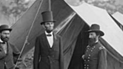 Predsjednik Abraham Lincoln, u Marylandu, nakon Antietam bitke, 1862. godine