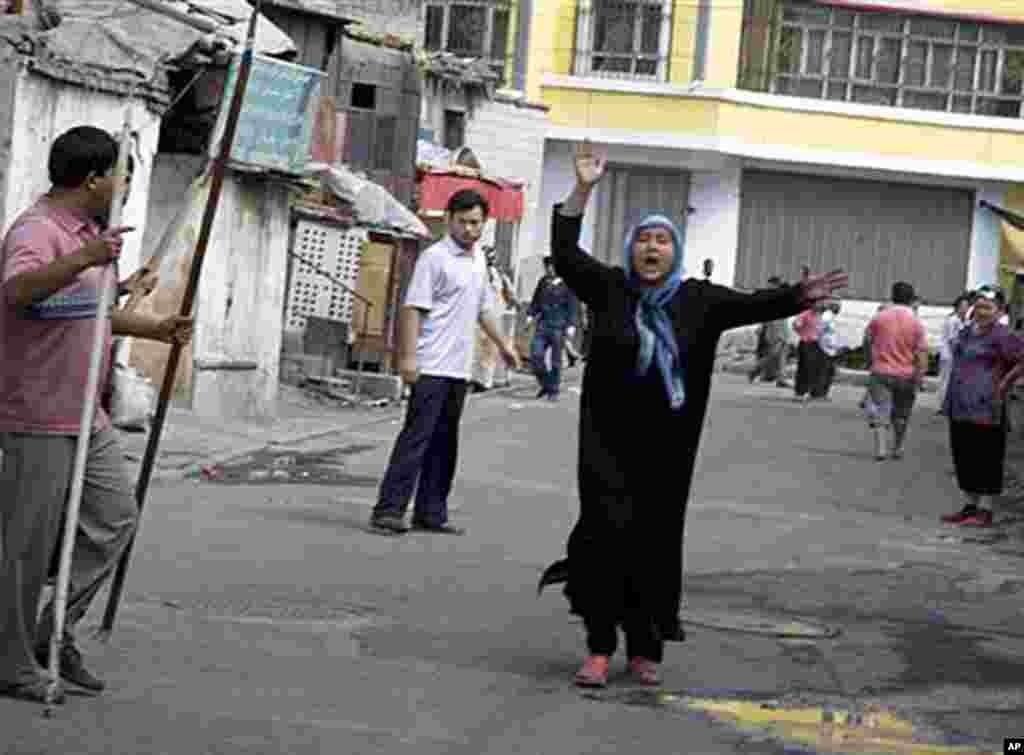 新疆乌鲁木齐骚乱