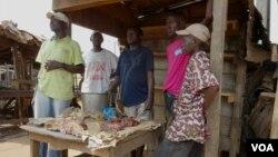 Warga Muslim di Bangui, Republik Afrika Tengah dikecam ketakutan oleh ancaman milisi (foto: dok).