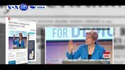 Bà Clinton mời bà Elizabeth Warren tham gia vận động tranh cử ở Cincinnati (VOA60)