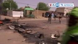 Manchetes africanas 28 Abril: Ruas de Ndjamena calmas esta quarta-feira em comparação com a véspera, quando jovens queimaram pneus
