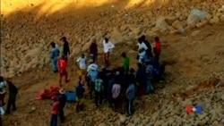 2015-11-22 美國之音視頻新聞: 緬甸玉石礦附近山泥傾瀉70人喪生