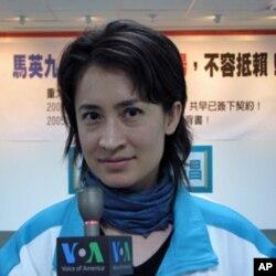 民进党国际事务部主任兼发言人萧美琴