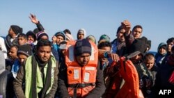 Illegal Pakistani Migrants
