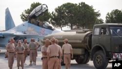 Dakarun mayakan saman Rasha a Syria