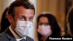 Presidenti francez Emmanuel Macron