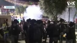 Kudüs'te Çatışmalar Sürüyor