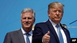 Trump nomme son émissaire pour la libération des otages Robert O'Brien conseiller à la sécurité nationale