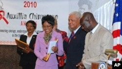 US Ambassador to Zimbabwe Charles Ray at the Auxullia Chimusoro Awards