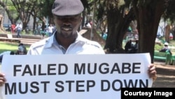 'Abducted' political activist Itai Dzamara disappeared a month ago in Harare.