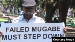 Abducted political activist Itai Dzamara.
