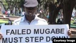 Abducted former journalist and political activist Itai Dzamara.