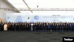 UN Climate Change Sumit in Paris