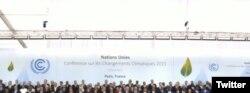 ۱۵۰ رهبر جهان عکس یادگاری گرفتند.