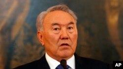 Президент Казахстану Нурсултан Назарбаєв.