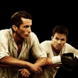 "Christian Bale and Mark Wahlberg in ""The Fighter"""