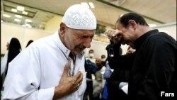 بازگشت حجاج ایرانی -فرودگاه شیراز هفتم مهر