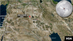 Ain al Assad base, Anwar province, Iraq