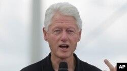 Bill Clinton ancien président américain