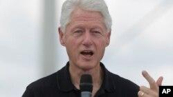 El expresidente Bill Clinton realiza una gira por Latinoamérica que incluye además de Panamá, Perú y El Salvador. Martes 10 de Noviembre de 2015.