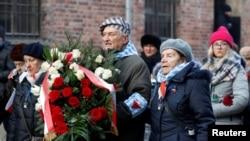 Yahudi Soykırımı'ndan kurtulanlar Ocak ayında Polonya'daki anma töreninde