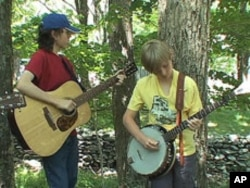 The Junior Appalachian Musicians program connects children to their musical heritage.