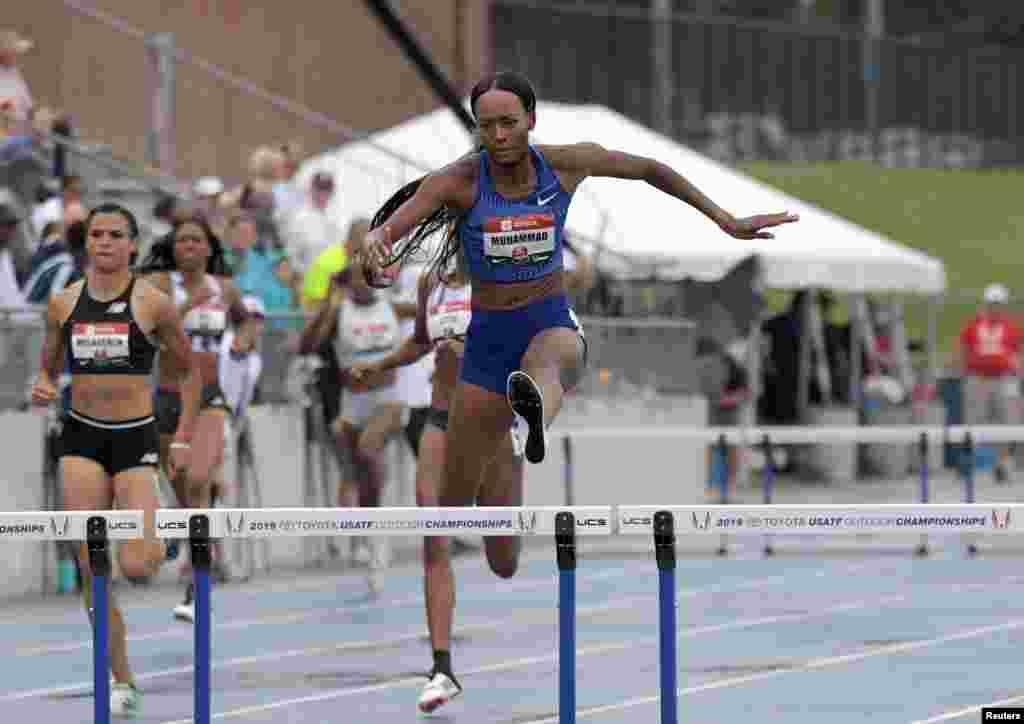 ڈیلائیلا محمد نے 16 سال پرانا ریکارڈ اتوار کو امریکہ کی ایک چیمپیئن شپ کے دوران توڑا۔