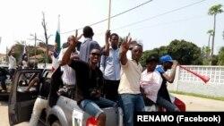 La Renamo en campagne électoral à Maputo, Mozambique, le 6 octobre 2018.