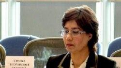 مهناز پراکند در پارلمان اروپا: مردم ايران در يک زندان بزرگ بنام جمهوری اسلامی همه در بند هستند